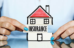 house with insurance gap