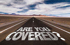 Are You Covered road sign